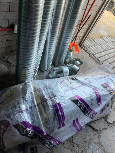 saldo fibra y tubos para aire acondicionado