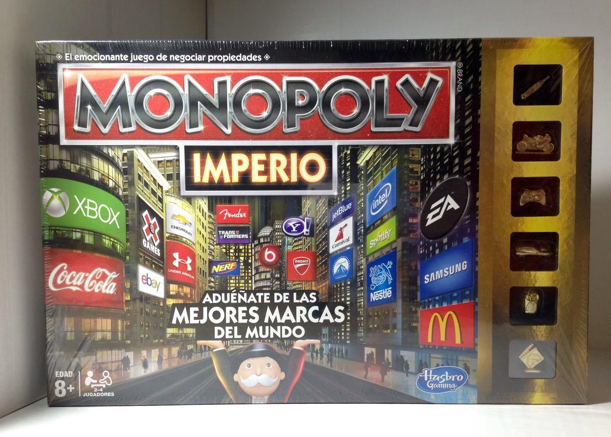 Saldo Juego De Mesa Monopoly Imperio Hasbro Dorado Nuevo 499 00