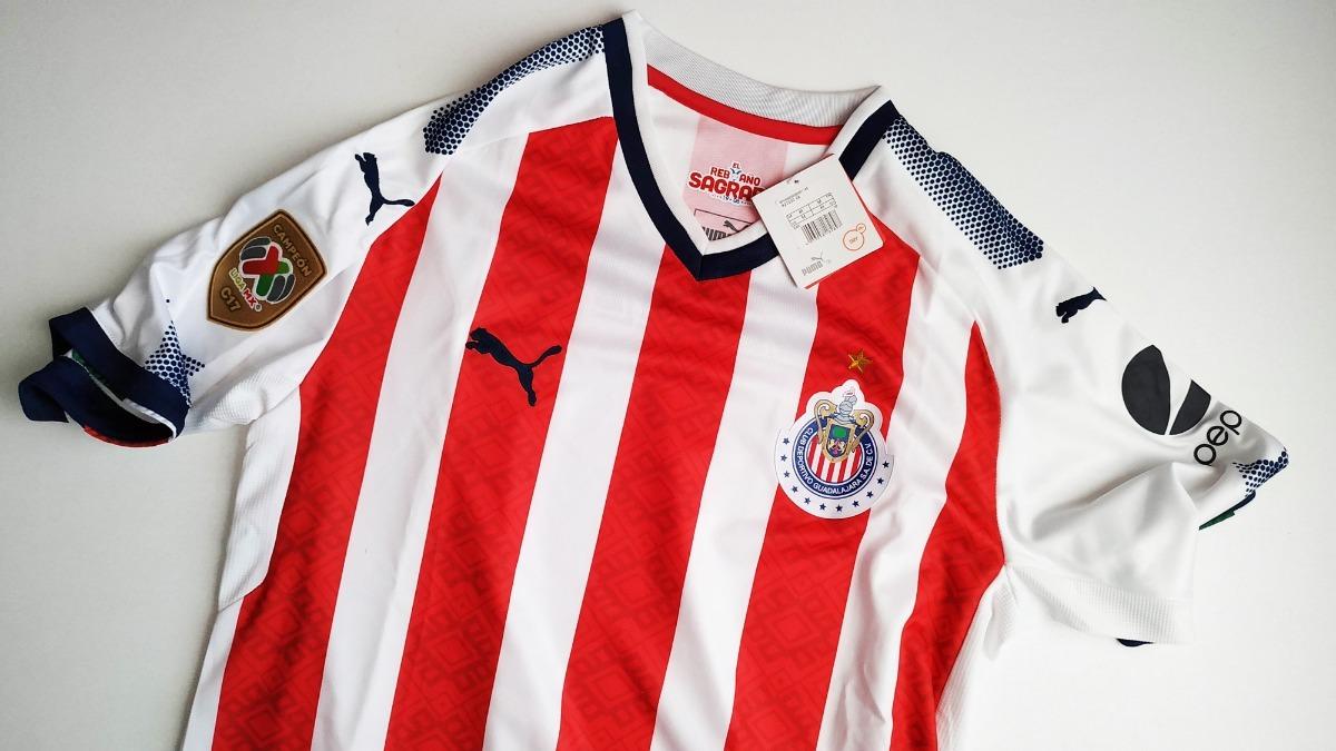 Saldo Playera Jersey Chivas De Guadalajara Nueva -   399.00 en ... eb08d6ded2d5c