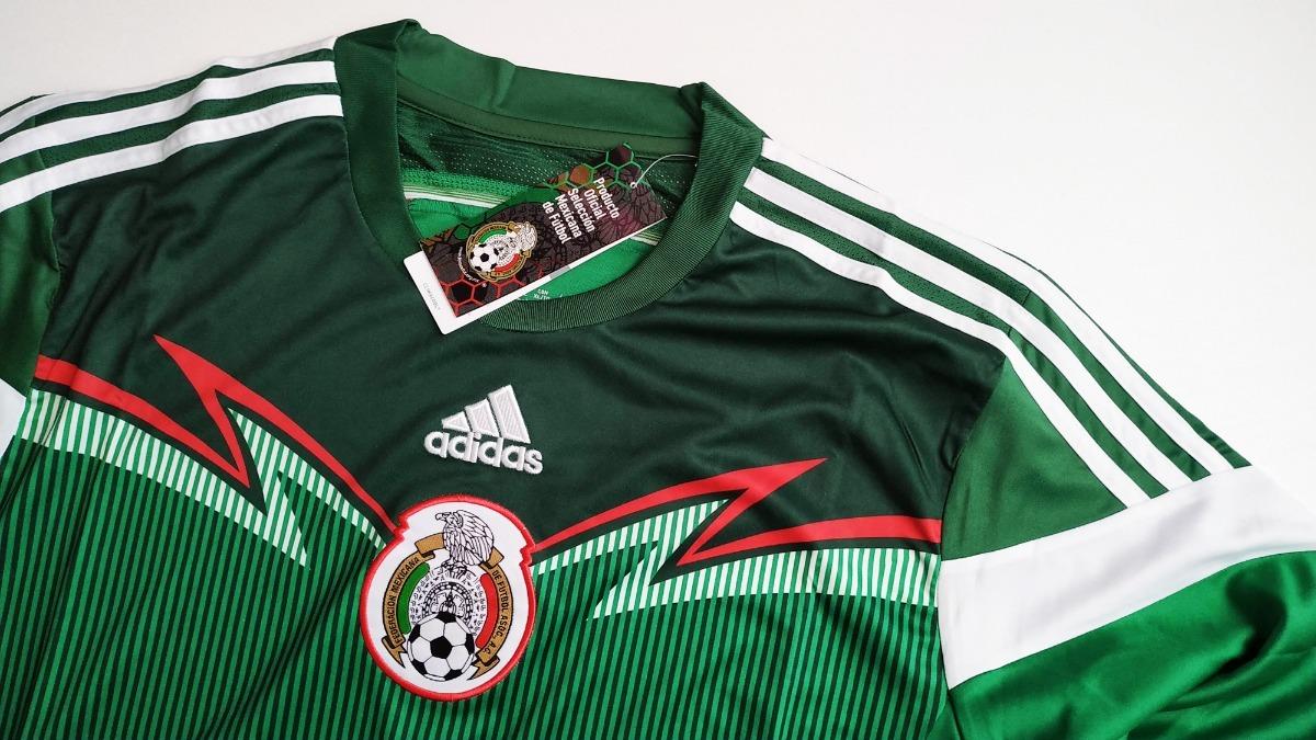 c2ab32bcb20ac Saldo Playera Jersey Mexico Mundial 2015 Nueva -   349.00 en Mercado ...