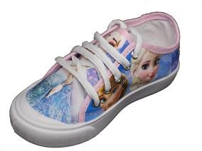89f1bac2e6 Promoção Tenis Infantil Meninas Frozen Elsa Ana Rosa Azul. R  39