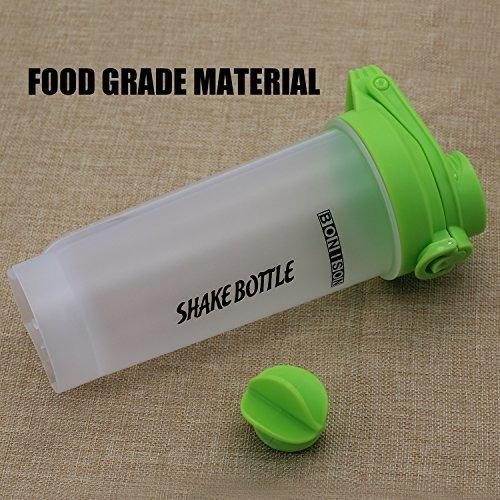 sale-24 oz shake bottle con flip top spout