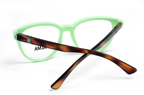 sale! alma green brown - anteojo receta femenino jackyiddo