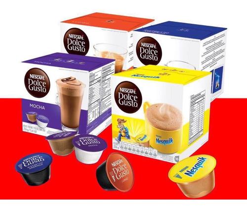 sale! caja 16 capsulas dolce gusto! compra 6 y envio gratis!