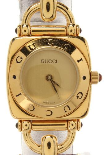 sale ! second hand gucci watches quartz gold 6300l women no.