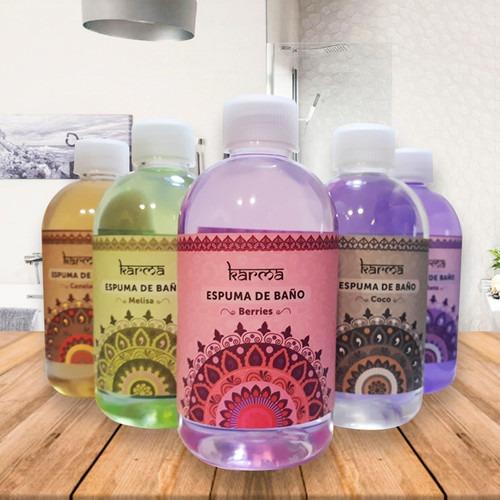 sales de baño +espuma 250 ml pack (organicos)