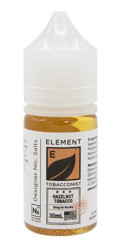 sales nicotina element ns/50 hazelnut tobacco 30ml nic 50mg