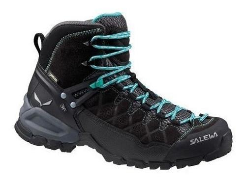 salewa botas alpine trainer mid gtx - mujer