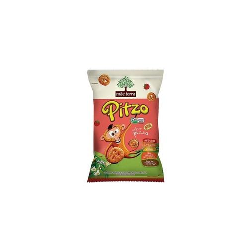 salgadinho (snack) orgânico pizza mãe terra 45g