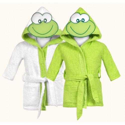 salida de baño toalla con capucha mibes