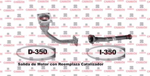 salida de motor y caño inter. peugeot 206 1.6 inyección 16v