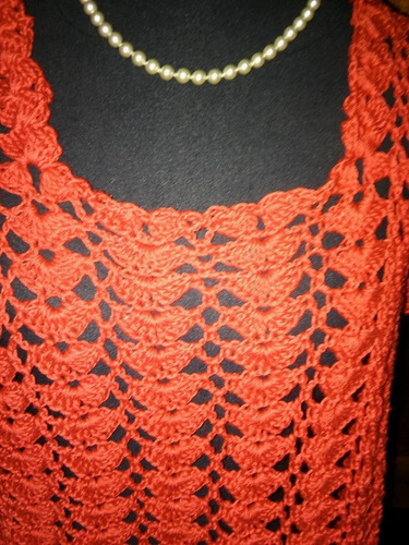 salida de playa o renera tejidos crochet