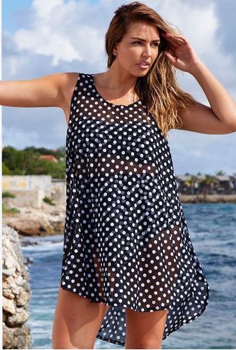 salida de playa pareo cover up vestido elegante mujer sexy
