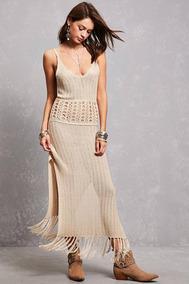 528c573af3 Vestido Tejido Crochet Salida De Playa - Vestidos de Mujer en ...