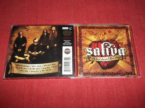 saliva - blood stained love story cd imp ed 2007 mdisk