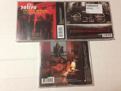 saliva theory of a deadman hard rock metal alternativo cd's