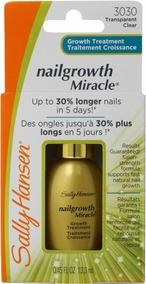 Natural Nails Growth Activator Sally Hansen - Beleza e Cuidado ...
