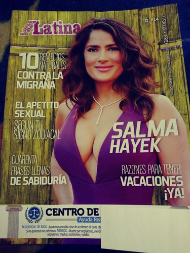 salma hayek frida kahlo revista vida latina