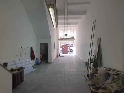 salão com mezanino com 150m² para alugar no brás ref 1458