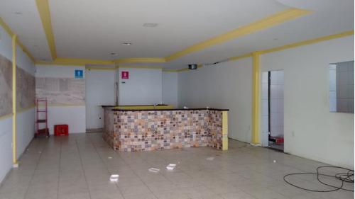 salão comercial 60m2 para alugar suzano sl-0012