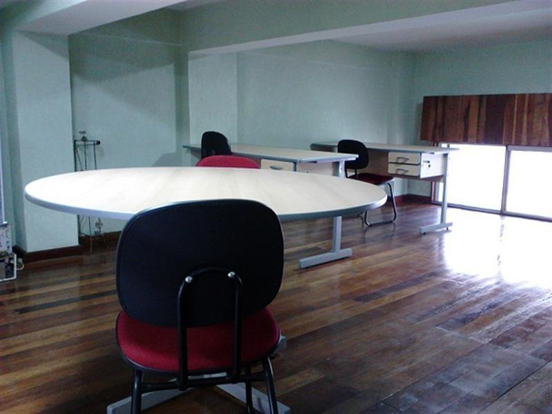 salão comercial com 38 m² e mezanino. - 13855