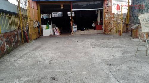 salâo comercial com 4 vgs, americanópolis, são paulo - sl0008. - sl0008