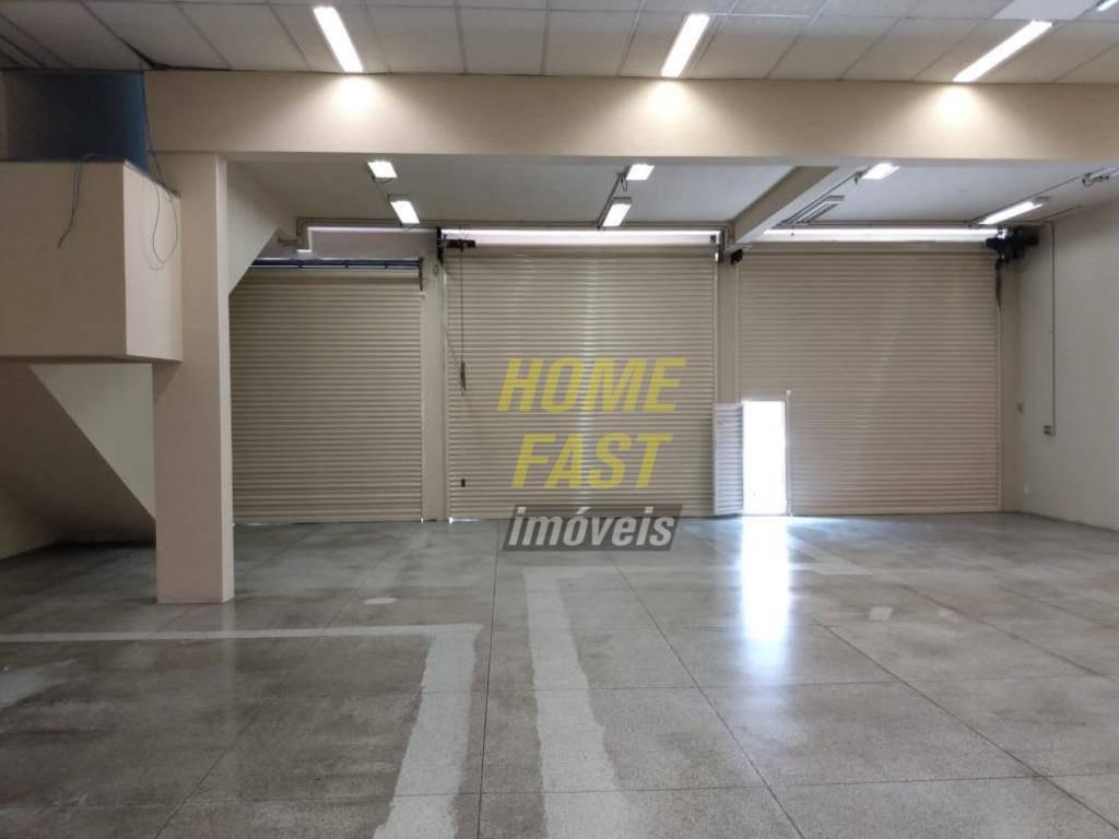 salão comercial com 614,46 m² - ótima localização na av. monteiro lobato - sl0262