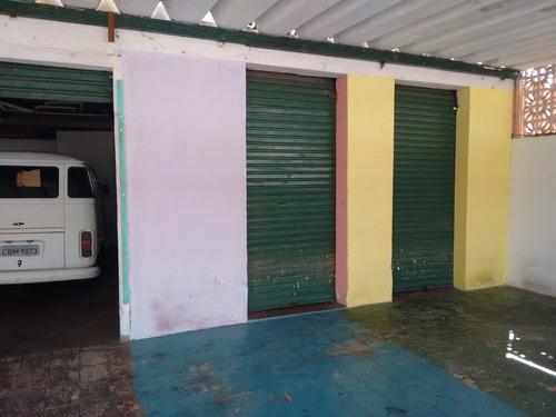 salão comercial com casa nos fundos de 110 m² total - yo1743