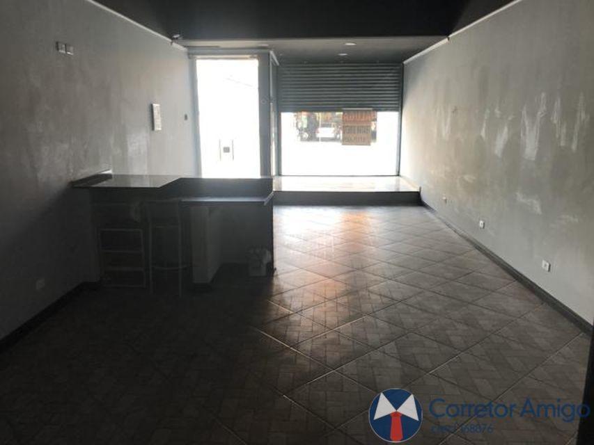 salão comercial em avenida com uma vaga e um banheiro - ml123