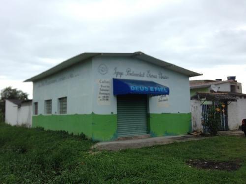 salão comercial es três casas no lote, praia de itanhaém!!!