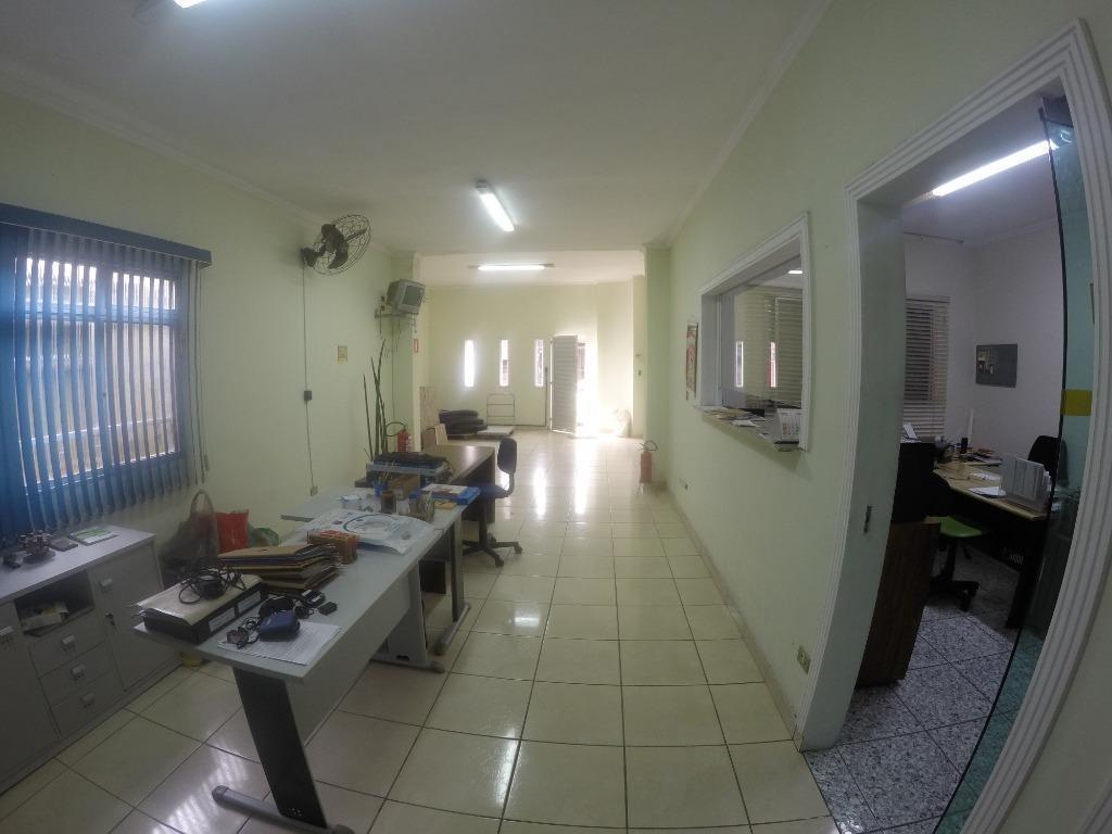 salão comercial frente rua para alugar, 120 m² por r$ 3.500/mês - boqueirão - praia grande/sp - sl0016