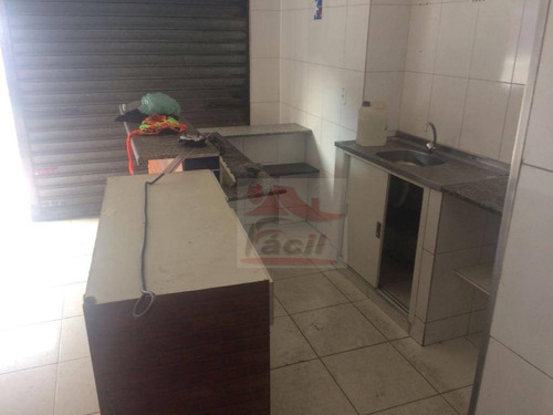 salão comercial locação, itaquera, são paulo - sl0089. - sl0089