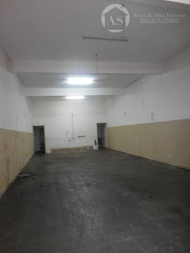 salão comercial na gamelinha - codigo: sl0074 - sl0074