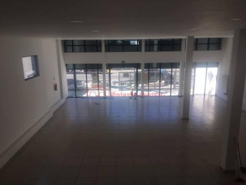 salão  comercial novo  680 m2 construído no centro da penha com mesanino e 30 vagas p/auto - 1420