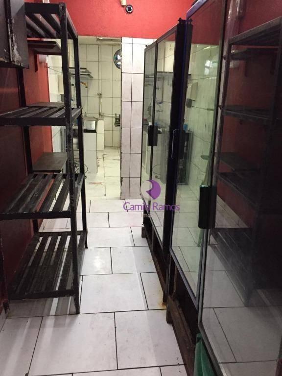 salão comercial  para alugar, 150 m²  - vila costa - suzano/sp - sl0058