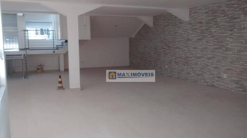 salão comercial para locação, 140 m² por r$ 8.000/mês - centro - bragança paulista/sp - sl0020