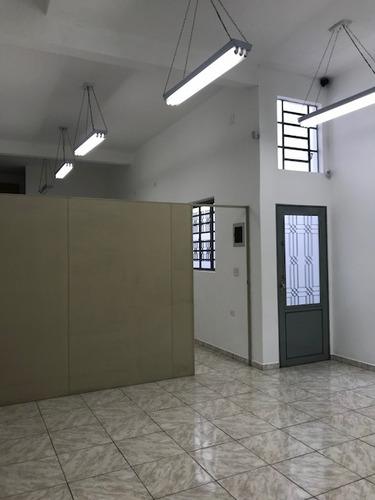 salão comercial para locação, 200m², 4 vagas, osasco
