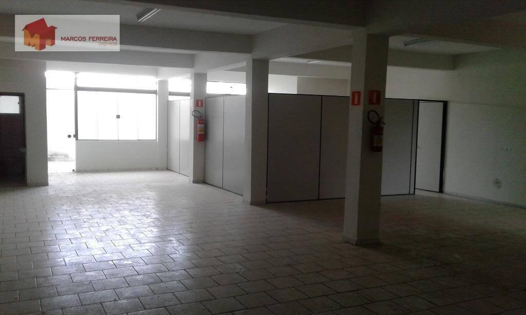 salão comercial para locação, campo limpo, americana. - sl0031