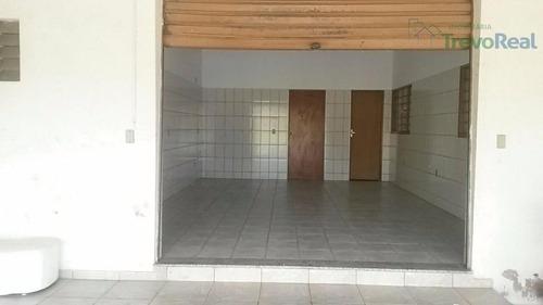salão comercial para locação, capela, vinhedo. - sl0052