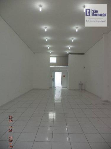 salão comercial para locação, centro, americana. - sl0009