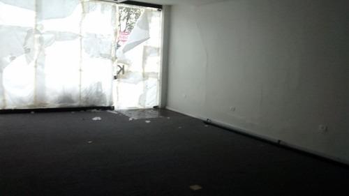 salão  comercial para locação, centro, santo andré. - sl0141