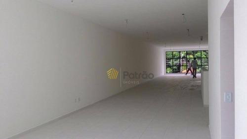 salão  comercial para locação, centro, são bernardo do campo. - sl0042