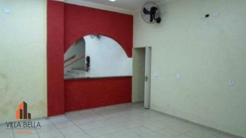 salão comercial para locação, centro, são caetano do sul. - sl0245
