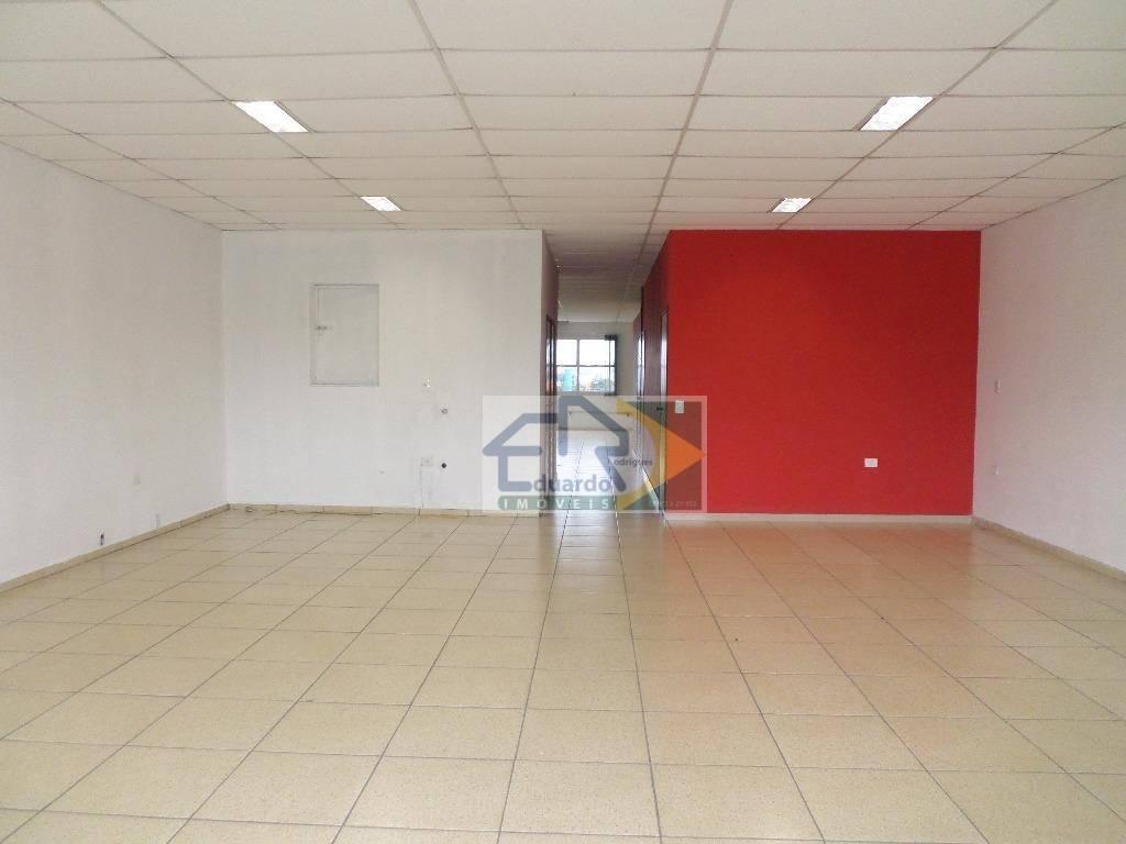 salão comercial para locação, centro, suzano. - sl0056
