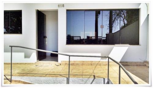 salão  comercial para locação, conserva, americana. - codigo: sl0035 - sl0035