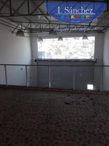 salão comercial para locação em mogi das cruzes, vila bernadotti, 2 banheiros, 6 vagas - 190211mogi