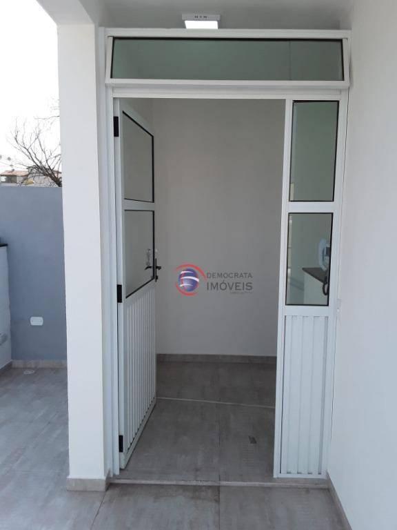 salão comercial para locação em santo andré sl0077 - sl0077
