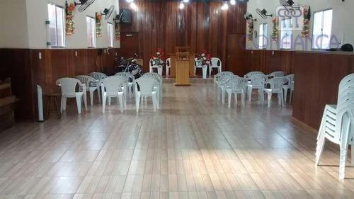salão comercial para locação, inhoaíba, rio de janeiro. - sl0005