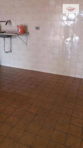 salão comercial para locação, jaguaré, são paulo. - sl0041