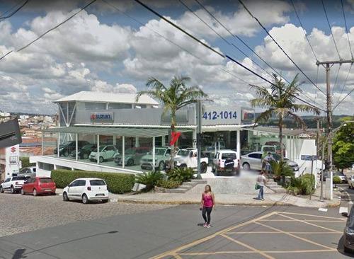 salão comercial para locação, jardim brasil, atibaia. - sl0036